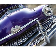 purple mercury Photographic Print