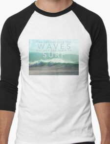 Surf Waves of Hawaii Men's Baseball ¾ T-Shirt