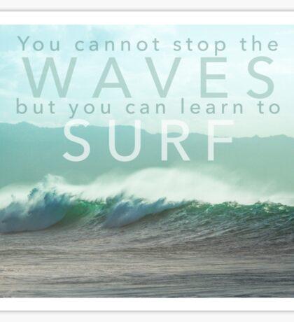 Surf Waves of Hawaii Sticker