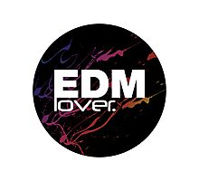 EDM (Electronic Dance Music) Lover. Photographic Print