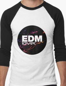 EDM (Electronic Dance Music) Lover. Men's Baseball ¾ T-Shirt