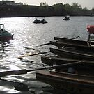 Boats in Beijing by Dan Rychlec