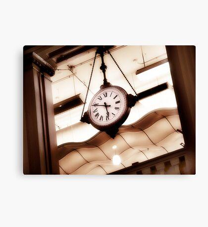 big clock Canvas Print