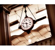 big clock Photographic Print