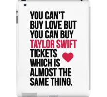 Taylor Swift Tickets iPad Case/Skin