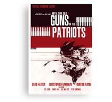 Patriots - Metal Gear Canvas Print