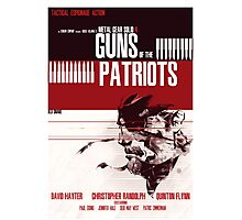 Patriots - Metal Gear Photographic Print
