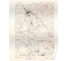 Massachusetts  USGS Historical Topo Map MA Lawrence 352791 1893 62500 Poster