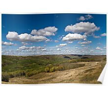 Clouds Over the Valley Poster