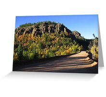 The hordes of autumn assemble, Gold Camp Road, CO 2010 Greeting Card