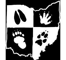 Ohio Furs (White Logo) Photographic Print