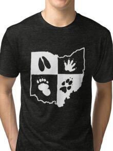 Ohio Furs (White Logo) Tri-blend T-Shirt