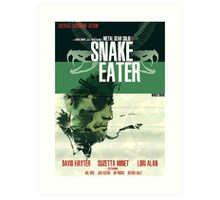Snake Eater - Metal Gear Art Print