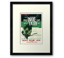 Snake Eater - Metal Gear Framed Print