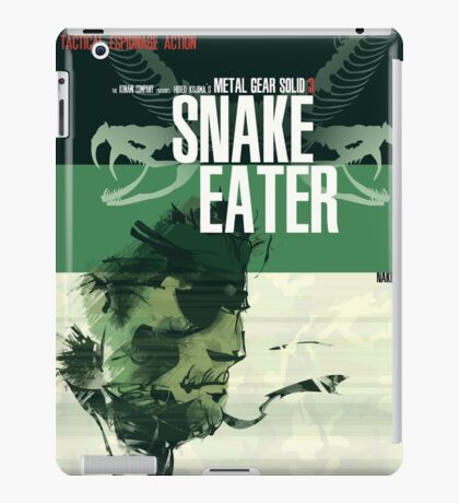 Snake Eater - Metal Gear iPad Case/Skin