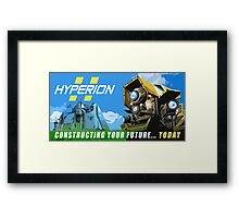 Constructing Your Future Framed Print