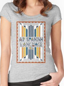 AP Spanish Language 2015 Women's Fitted Scoop T-Shirt