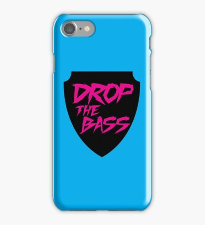 Drop The Bass Shield  iPhone Case/Skin