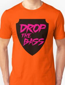 Drop The Bass Shield  T-Shirt