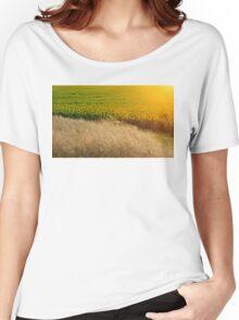 Sunflowers and feather grass Women's Relaxed Fit T-Shirt