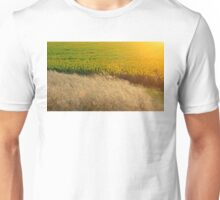 Sunflowers and feather grass Unisex T-Shirt