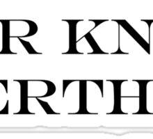Ermahgerd Jon Snow - Game of Thrones Sticker