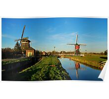 So many Dutch mills Poster