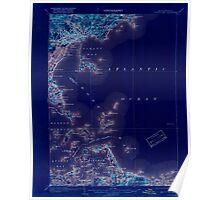 Massachusetts  USGS Historical Topo Map MA Boston Bay 352528 1903 62500 Inverted Poster