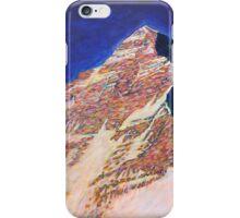 Everest - West ridge iPhone Case/Skin