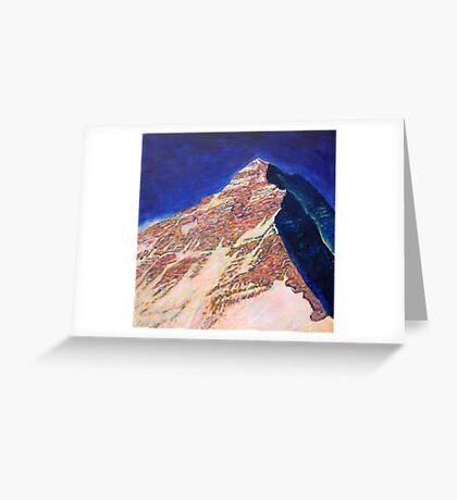 Everest - West ridge Greeting Card