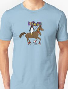 Penguin Horse Swag Flag T-Shirt