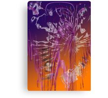 Weeping (Abstract) Canvas Print