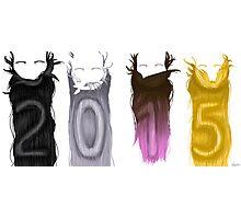 Say Hi to 2015 Photographic Print