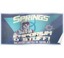 Springs' Emporium o' Stuff Poster