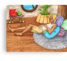 Sleeping in Sandover Canvas Print