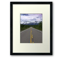 Lonely Road Framed Print