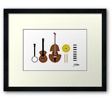 Music. Framed Print