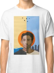 We r becoming God - Poster/Phone Case Classic T-Shirt