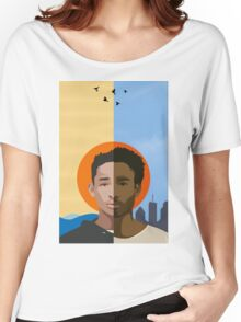 We r becoming God - Poster/Phone Case Women's Relaxed Fit T-Shirt