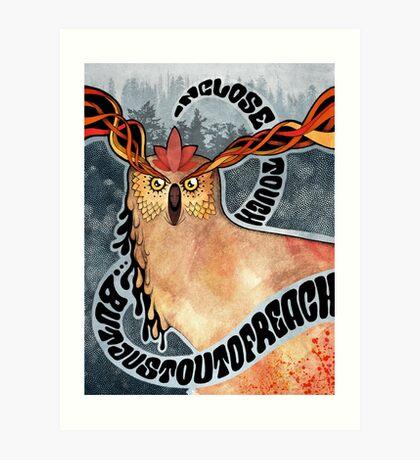 Psyowl Art Print
