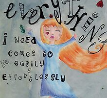 Everything I need by Nolwenn