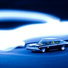 Toy car, light painting by randy-mandy