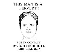 contact dwight plz Photographic Print