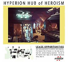 Hyperion Hub of Heroism Photographic Print