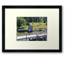 A Very Private Place Framed Print
