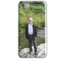 At the Riverside - Nature and Man iPhone Case/Skin