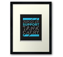 Support Only Framed Print