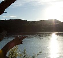 Shining waters. (Orange River, Free State, South Africa) by Mauds