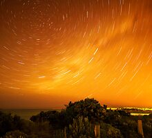 Star Trails in Torquay by Danka Dear