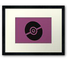 Pokemon Pokeball Poison  Framed Print